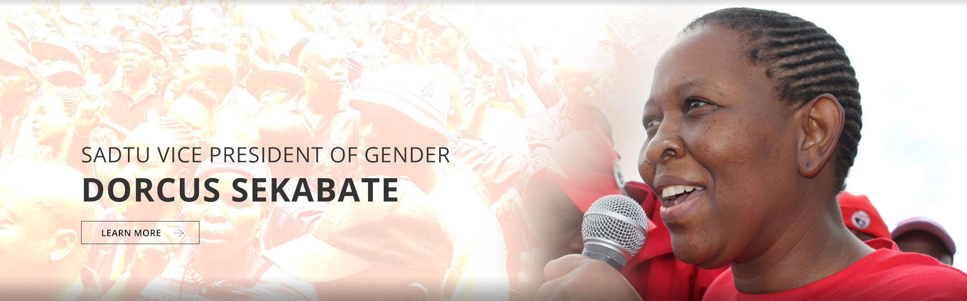 Vice President (Gender): Cde Dorcus Sekabate
