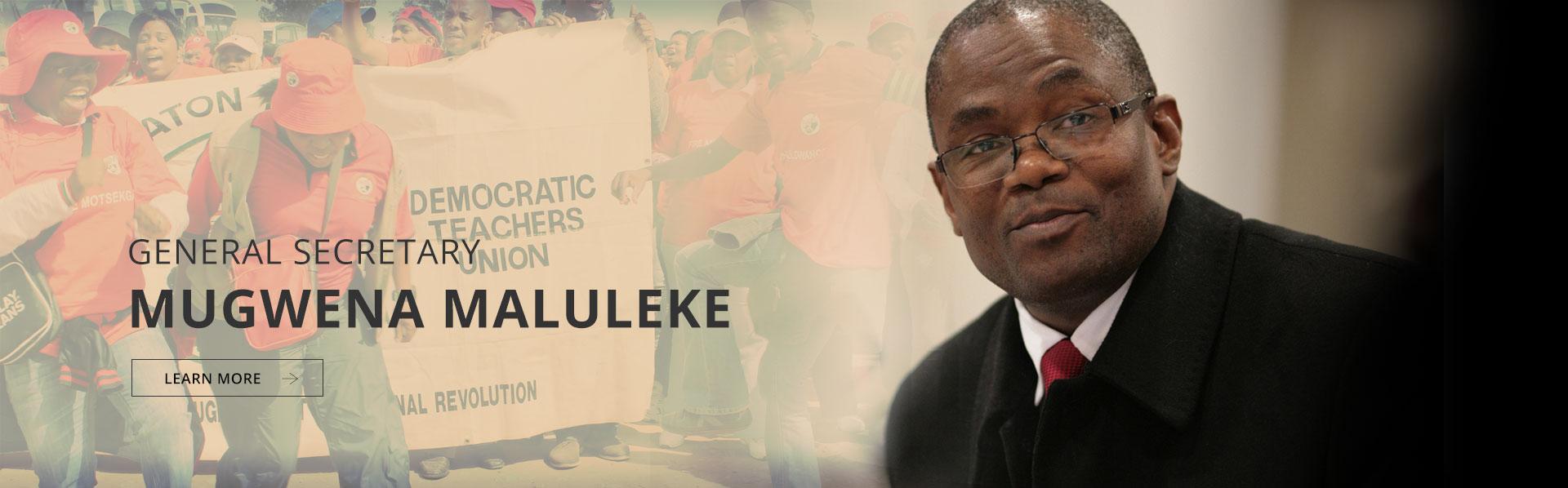 General Secretary: Cde Mugwena John Maluleke